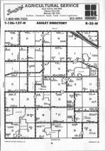 Map Image 004, Stearns County 1992